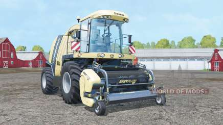 Krone BiG X 1100 with headers for Farming Simulator 2015