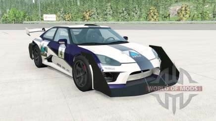 Hirochi SBR4 GT Widebody v1.1 for BeamNG Drive