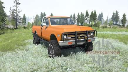 Chevrolet K10 1968 lifted for MudRunner