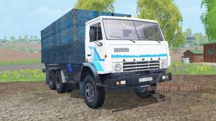 KamAZ-53212 white color for Farming Simulator 2015