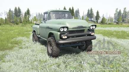 Chevrolet Apache 36 Stepside 1958 for MudRunner