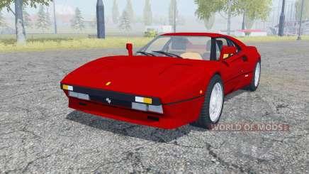 Ferrari 288 GTO 1984 for Farming Simulator 2013