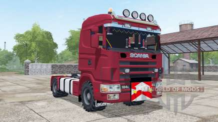 Scania R124L 440 for Farming Simulator 2017