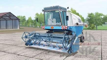 Fortschritt E 512 with header for Farming Simulator 2017
