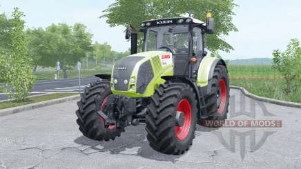 Claas Axion 810 wheels selection for Farming Simulator 2017