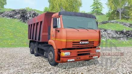 KamAZ-6520 2002 for Farming Simulator 2015