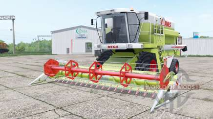 Claas Dominator 208 Mega and C 600 for Farming Simulator 2017