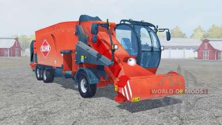 Kuhn SPV Confort XL ballen laden for Farming Simulator 2013