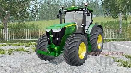 John Deere 7310R movable parts for Farming Simulator 2015