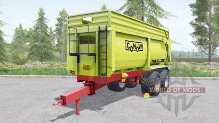 Conow TMK 22-7000 yellow-green for Farming Simulator 2017