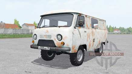 UAZ-3741 rusted body for Farming Simulator 2017