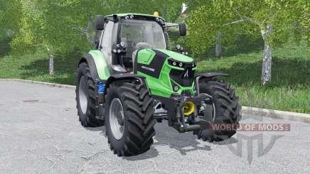 Deutz-Fahr 6 TTV Agrotron wheels selection for Farming Simulator 2017