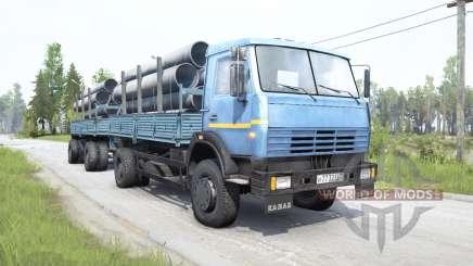 KamAZ-43253 for MudRunner