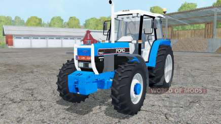 Ford 7840 dual rear wheels for Farming Simulator 2015