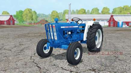 Ford 5000 1965 front loader for Farming Simulator 2015