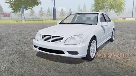 Mercedes-Benz S 65 AMG (W220) 2005 for Farming Simulator 2013