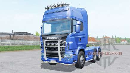 Scania R730 Topline 6x4.2 for Farming Simulator 2017