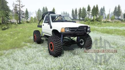 Toyota Hilux crawler for MudRunner