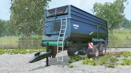 Krampe Bandit 750 yankees blue for Farming Simulator 2015