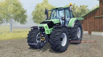Deutz-Fahr 7250 TTV Agrotron added wheels for Farming Simulator 2013
