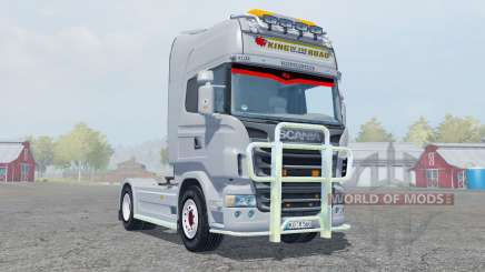 Scania R560 Highline gray for Farming Simulator 2013