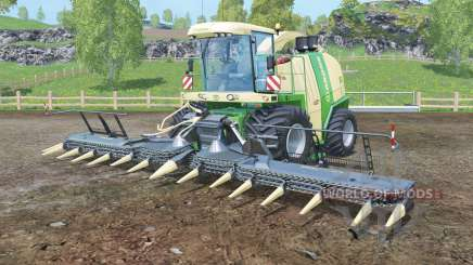 Krone BiG X 1100 black cutters for Farming Simulator 2015