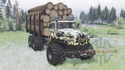 VTS Ural-Polyarnik Army for Spin Tires