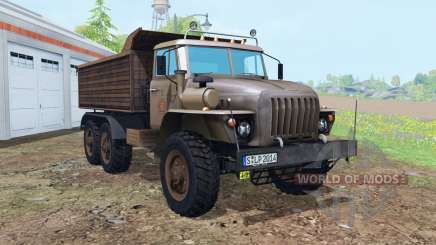 Ural-5557 6x6 for Farming Simulator 2015