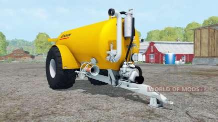 Pichon 2050 golden yellow for Farming Simulator 2015