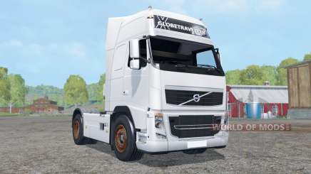 Volvo FH16 750 Globetrotter XL cab for Farming Simulator 2015