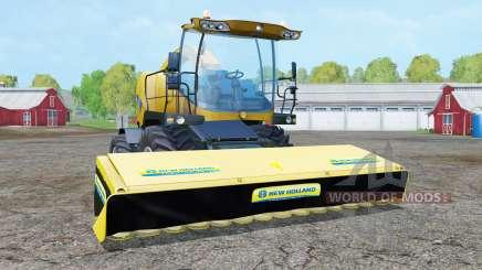 New Holland FR9090 deep lemon for Farming Simulator 2015