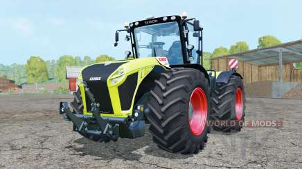 Claas Xerion 5000 Trac VC bitter lemon for Farming Simulator 2015