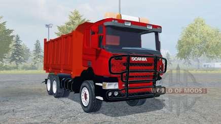 Scania P420 tipper for Farming Simulator 2013
