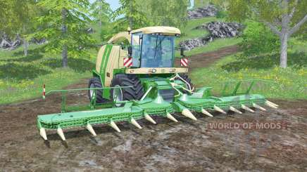 Krone BiG X 1100 animated joystick for Farming Simulator 2015