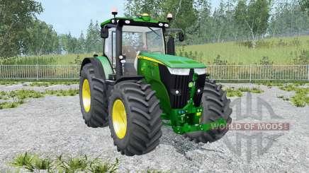 John Deere 7310R moving elements for Farming Simulator 2015