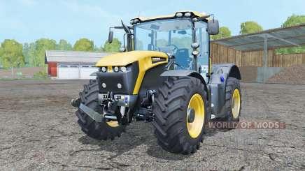 JCB Fastrac 4190 front loader for Farming Simulator 2015