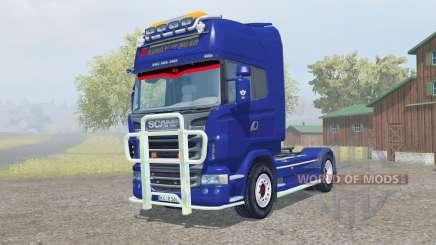 Scania R560 Topline pigment blue for Farming Simulator 2013