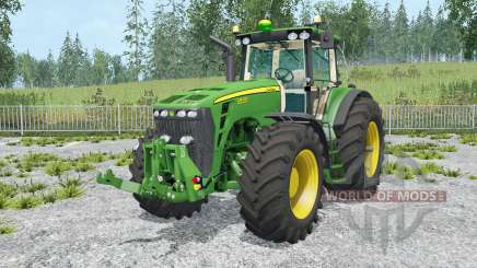 John Deere 8530 movable parts for Farming Simulator 2015