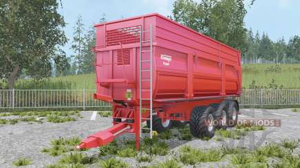 Krampe Big Body 900 S increased capacity for Farming Simulator 2015