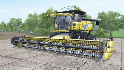 New Holland CR9070 dual front wheels for Farming Simulator 2017