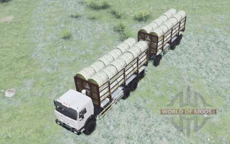 KamAZ-43115 for Spin Tires