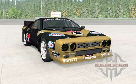 Lancia Rally Group B for BeamNG Drive