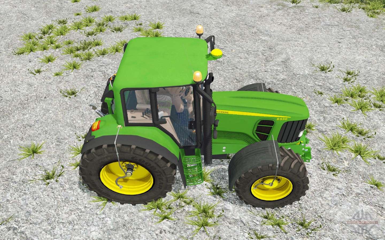 John Deere 6930 animated hydraulic for Farming Simulator 2015