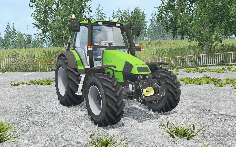 Deutz-Fahr Agrotron 120 MK3 Front Loadeᶉ For Farming