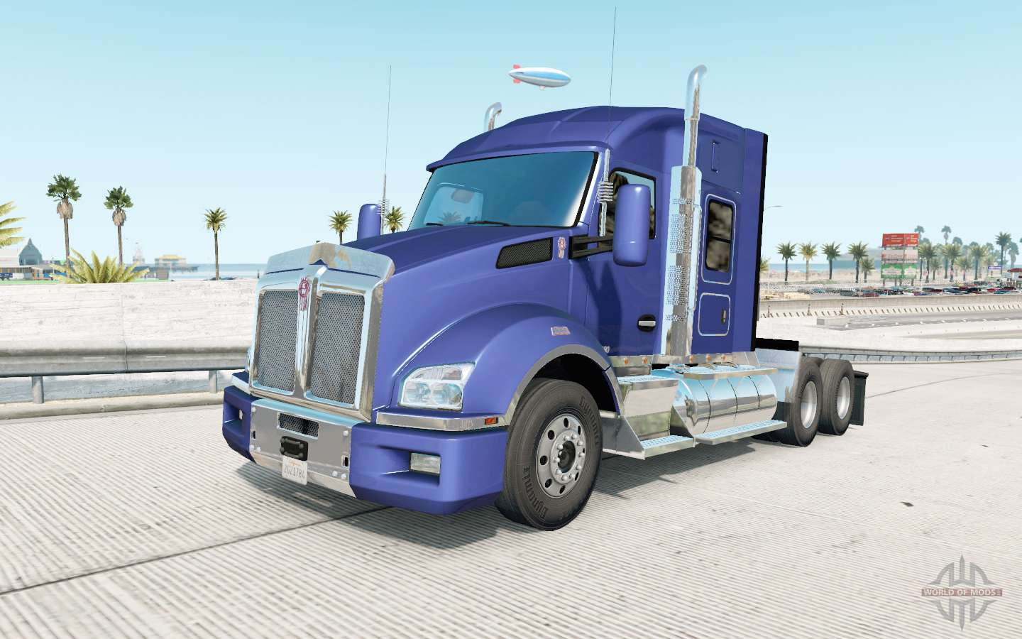 Kenworth T880 Mid Roof Sleeper v1 3 for American Truck Simulator
