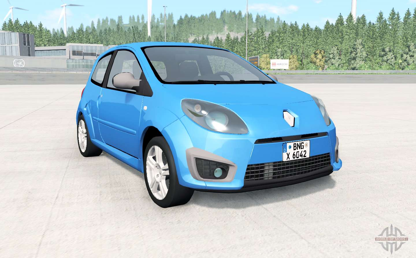 Renault Twingo R S  2009 for BeamNG Drive