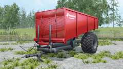 Kverneland Taarup Shuttle coral red for Farming Simulator 2015