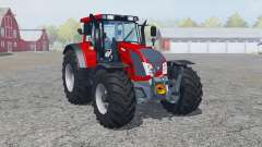 Valtra N163 rosso corsa for Farming Simulator 2013