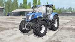 New Holland T7.220-270 MR for Farming Simulator 2017