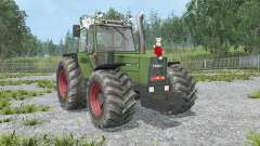 Fendt Favorit 611 LSA Turbomatik E black smoke for Farming Simulator 2015